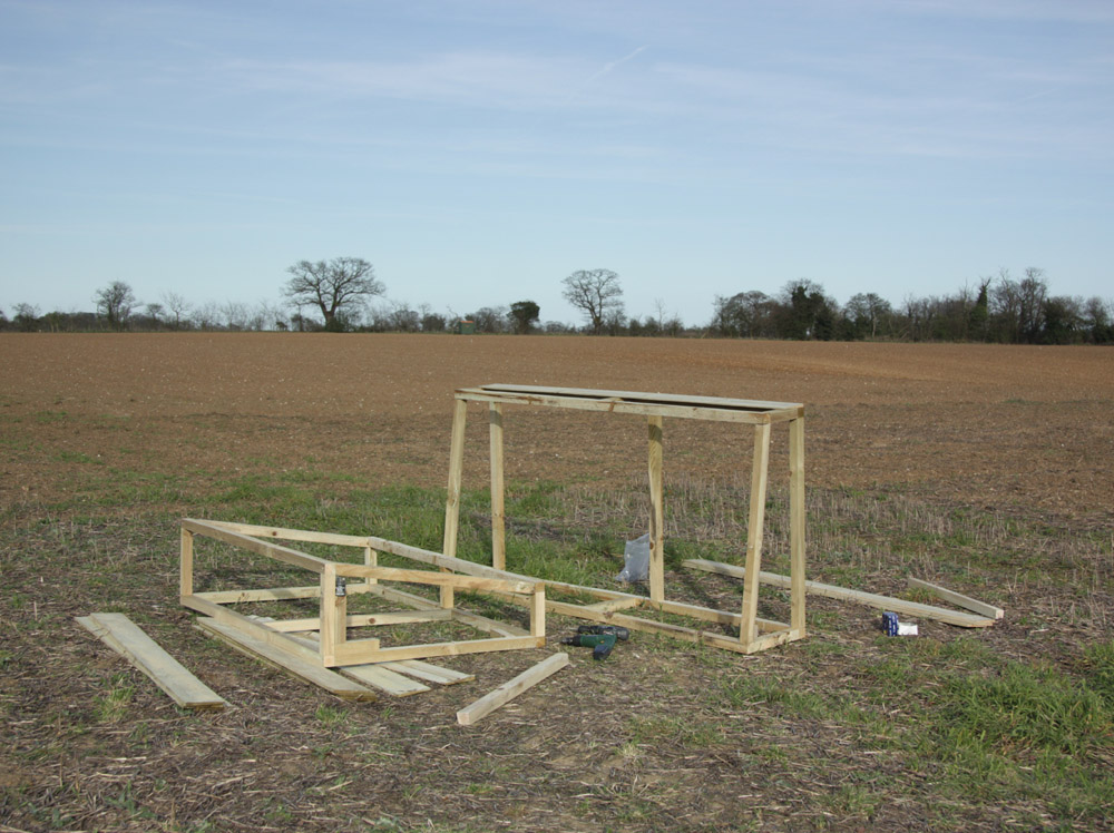 Making Cold Frames From Old Windows Simple Living In
