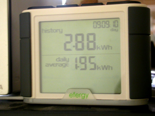 Efergy whole house monitor