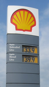 2011 petrol prices