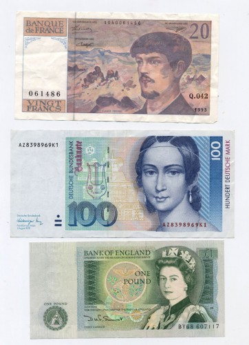 Wonder how many of these old friends will return to grace our wallets in years to come