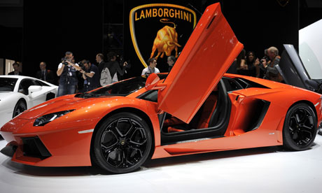 That'll be a nice Lamborghini, and to hell with the money