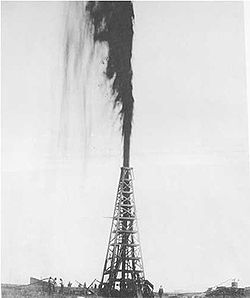 Spindletop. Texas, 1901. We haven't seen one of these for a little while