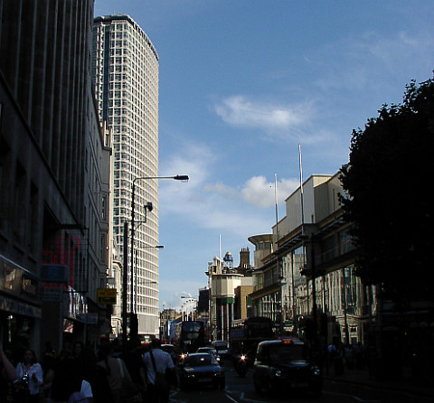 Centrepoint. Still there, still not a thing of great beuty