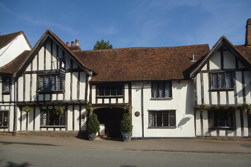 The Swan hotel in Lavenham